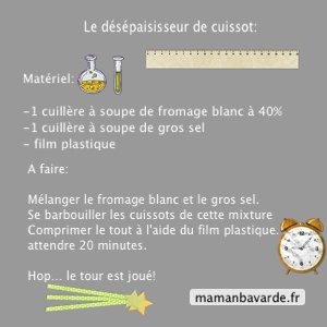 Cuisses fromage blanc gros sel - Gros sel pour desherber ...