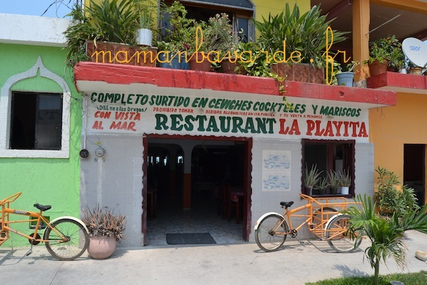 restaurant mexicain celestun-mexique