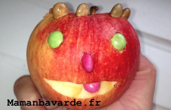 pomme goûter