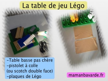 diy la table de jeu l go et le rangement f t chut maman bavarde. Black Bedroom Furniture Sets. Home Design Ideas