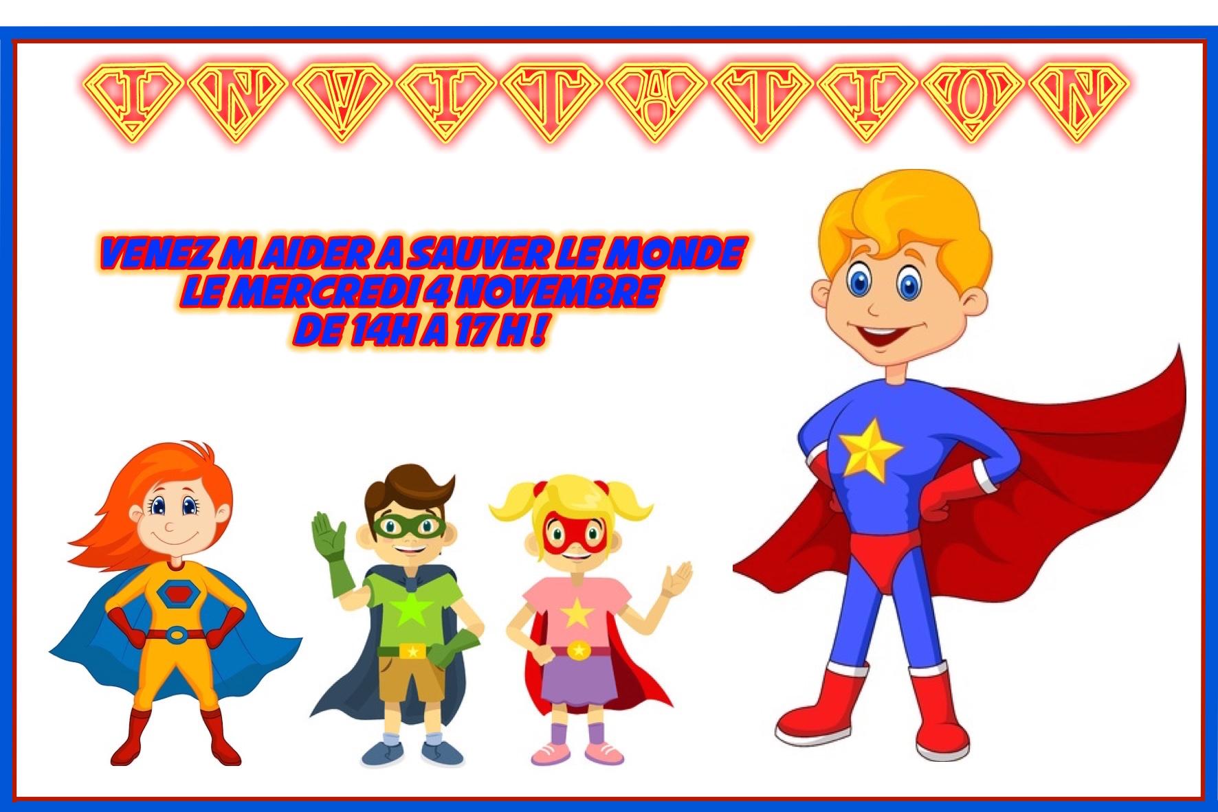 Gut bekannt 5 ans bientôt : mes préparatifs de super héros! VE24