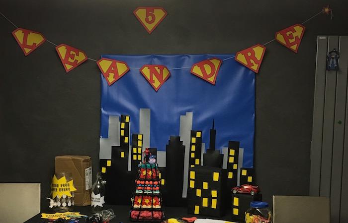 anniversaire de super héros