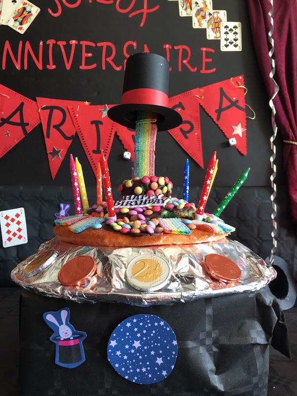 gâteau-anniversaire-thème-magie