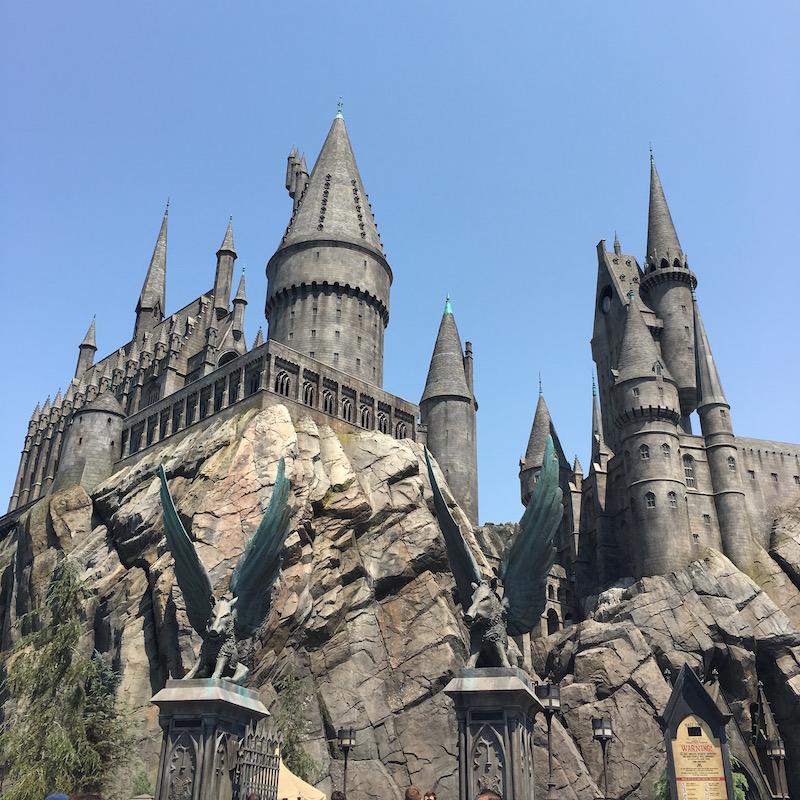 Universal studios château harry potter