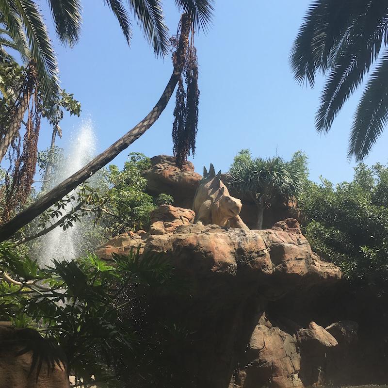 Universal studios dinosaures
