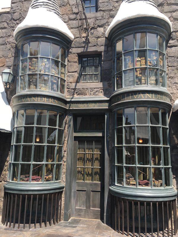 Universal studios harry potter ollivander