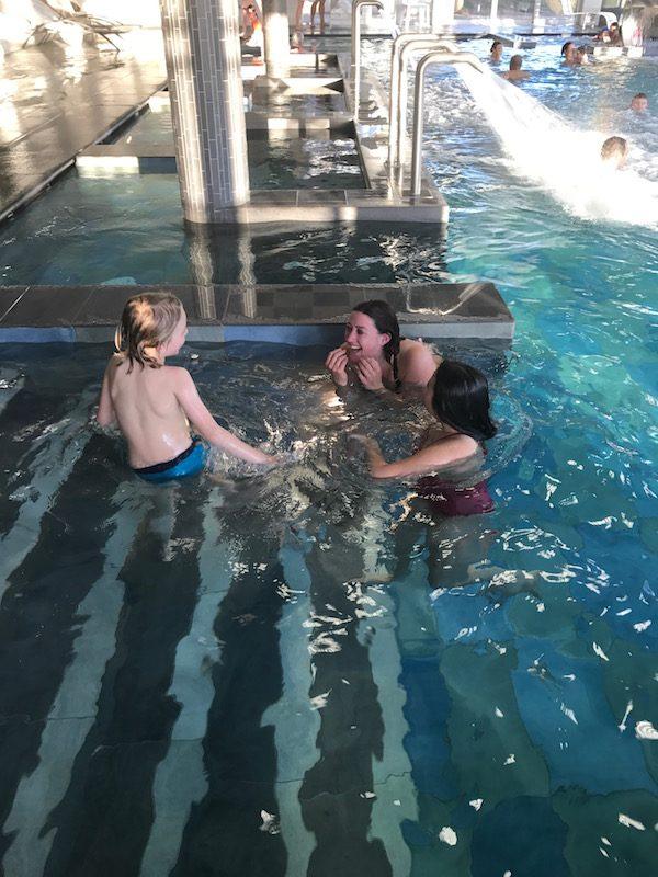 piscine b'o resort