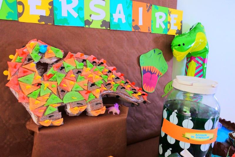 anniversaire dinosaures