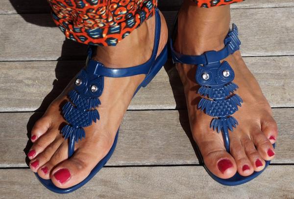 cadeau anniversaire femme sandales