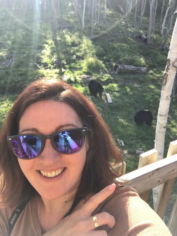 selfie bear !