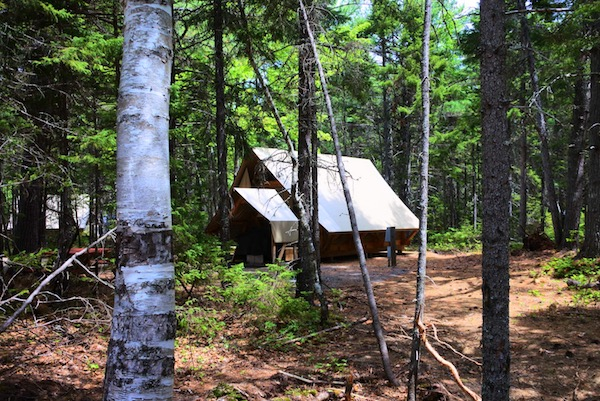 cabane au canada camping nouveau brunswick