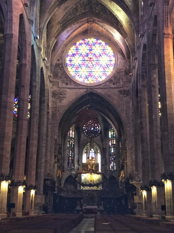 un week-end à Majorque cathédrale