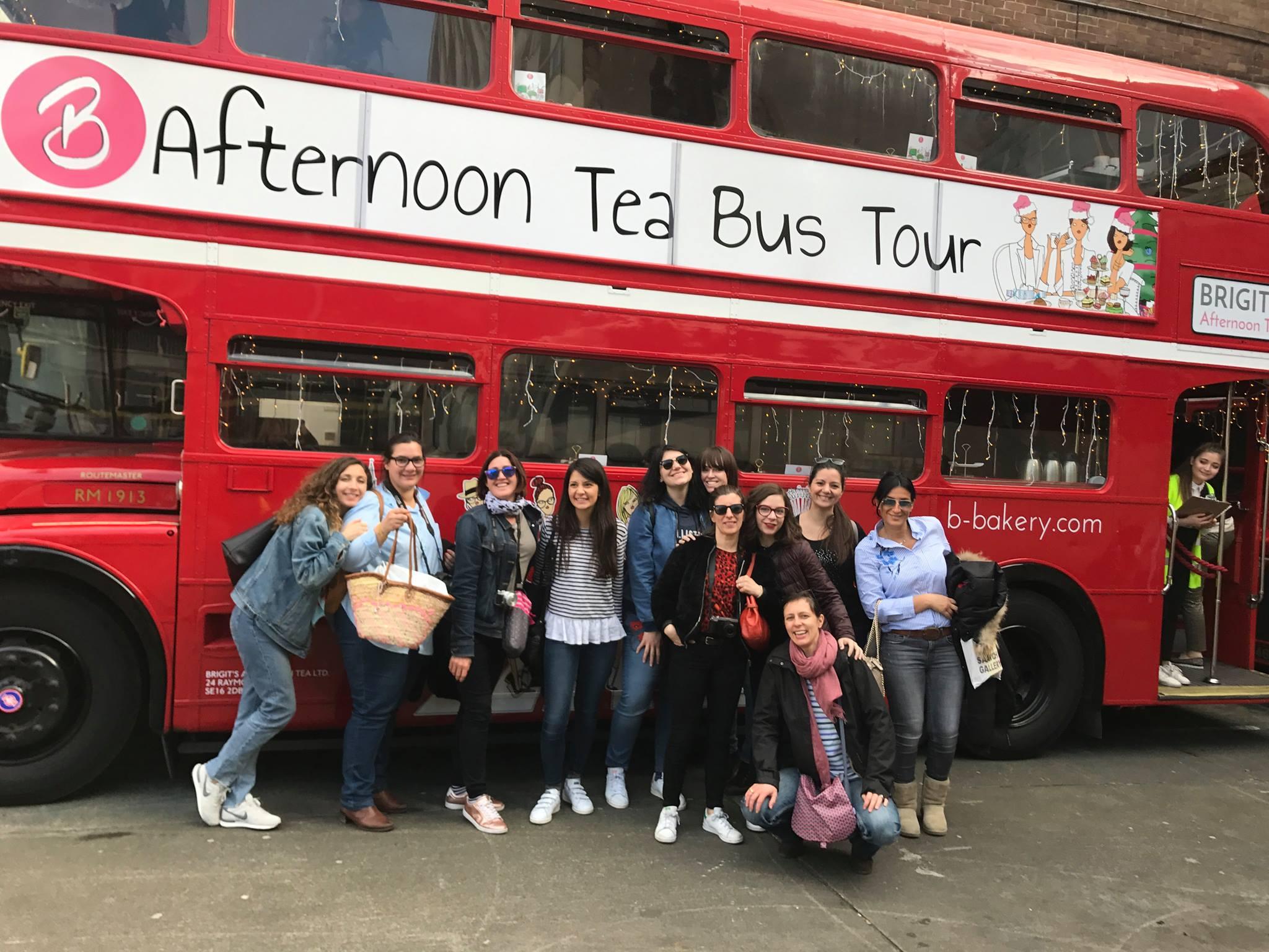 London bus tea